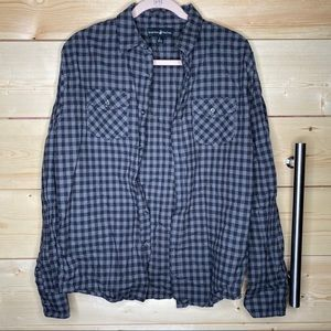 BHPC Flannel, Black and Grey